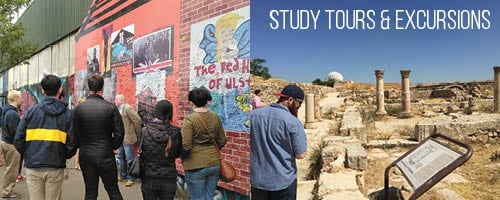 Study Tours and Excursions Dublin Amman Graphic